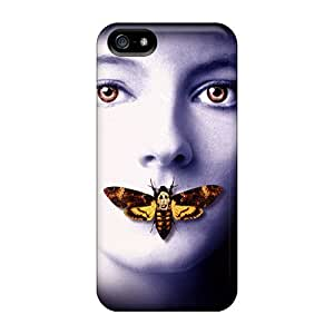 Hot Snap-on Silence Of The Lambs Hard Cover Case/ Protective Case For Iphone 5/5s