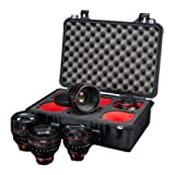 Canon Case for Cine Prime Lenses 6 cut-outs