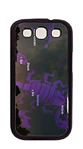 Custom Cover Case with Hard Shell Protection Samsung galaxy case - Clear taurus