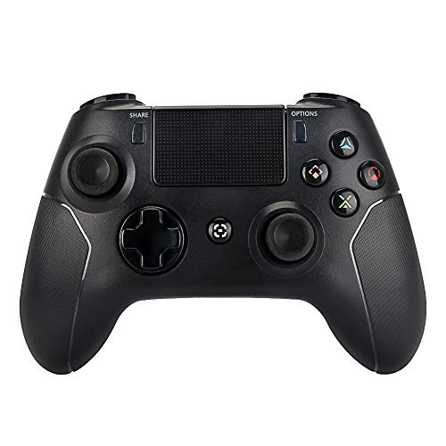 Controller for PS4 - OUBANG PS4 Wireless Remote for Playstation 4 Controller, 2019 PS4 Remote Control with Double Vibration (Black)