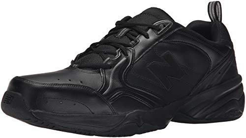 New Balance Men's MX624v2 Casual Comfort Training Shoe, Black, 8.5 2E US