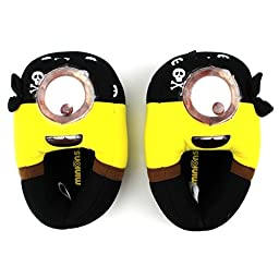 Despicable Me Minions Movie Kids Slippers (13/1 M US Little Kid, Pirate Minion)