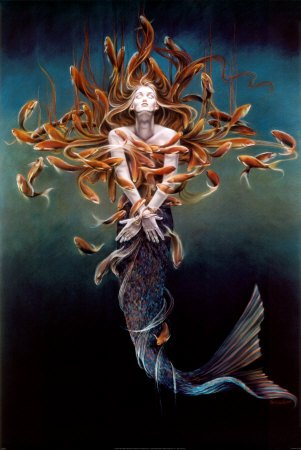Metamorphosis Art Poster Print by Sheila Wolk