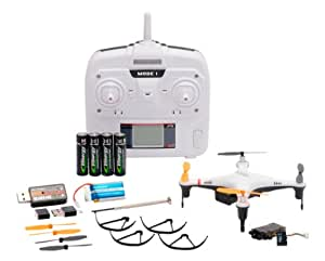 Nine Eagles GALAXY VISITOR2 camera SD card with RTF Kit White (2.4GHz 4ch Multi-Copter) (japan import)