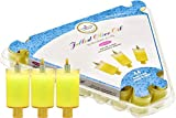 The Dreidel Company Chanukah Pre-Filled Jelled Oil Cups Candles Ready to Use Pre-Filled Jelled Oil Cups