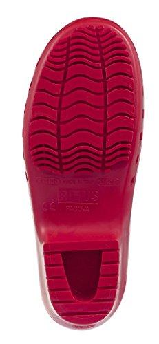 Zoccolo Calzuro Autoclavabile Con Ventilazione Superiore Rossa