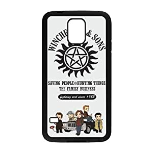 Happy Winchester And Song Cell Phone Case for Samsung Galaxy S5
