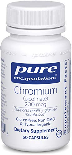 Pure Encapsulations – Chromium Picolinate (200 mcg) – Hypoallergenic Support for Healthy Lipid and Glucose Metabolism* – 60 Capsules Review