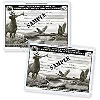 TruLam 5 Mil Hunting and Fishing Laminating Pouches, 3 x 4 Inches, 500 per Box (LP05HNT)