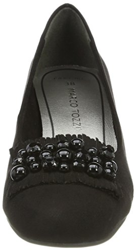 Scarpe Black Nero 22402 Marco Tozzi Tacco con Donna OFTTxP