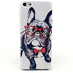 SOL Cool Puppy Pattern Hard Case for iPhone 4/4S