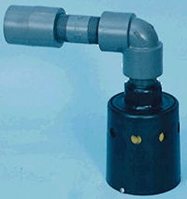 "1"" Threaded Float Valve for Temps Up to 90° F 5"" H x 3.75"" Dia. from Hudson Valve Company"