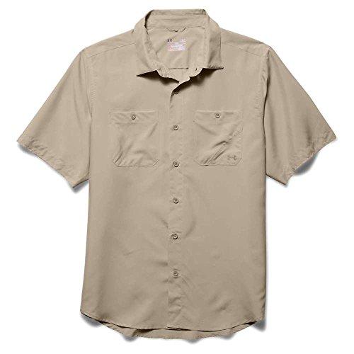 Under Armour Chesapeake Shirt, Desert Sand, Medium
