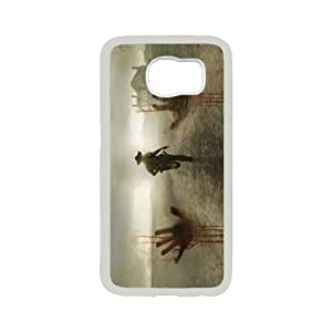[bestdisigncase] For Samsung Galaxy S6 -TV Series - The Walking Dead PHONE CASE 6