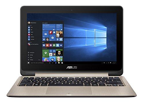 Asus Flipbook TP201SA-FV0013T 29,46 cm (11,6 Zoll) Tablet PCs (Intel celeron N3060, 2GB RAM, 500GB HDD, Intel HD, Windows 10 Home Touchscreen) gold inkl. Office 365
