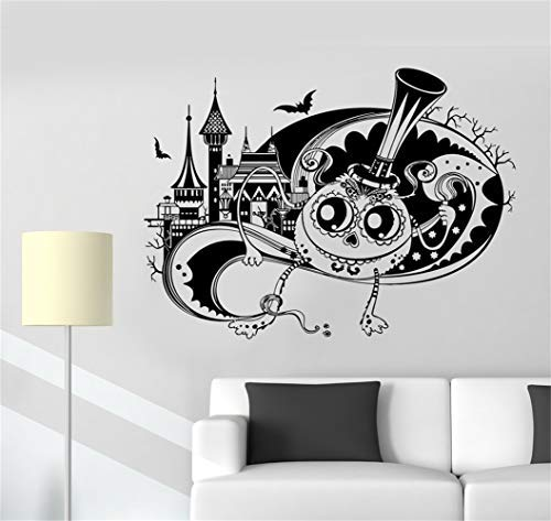 Alfr2054Meg Quote Wall Decal Sticker Nursery Vinyl Saying Lettering Wall Art Inspirational Wall Decor Tale Fantasy Funny Monster Halloween Castle ()