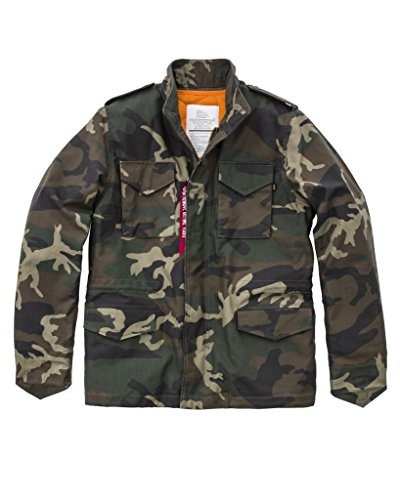 65 Woodl camo M Industries Heritage Jacke Alpha CR1xqx