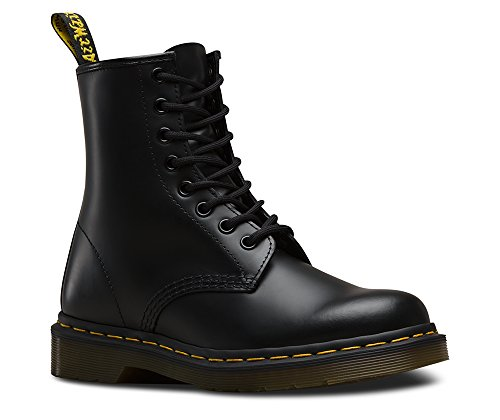 Dr. Martens 1460 Originals 8 Eye Lace Up Boot,Black Smooth Leather,6 UK (7 M US Mens / 8 M US Womens)