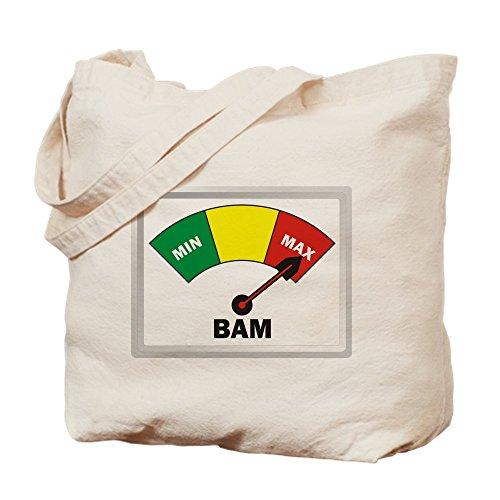 CafePress–Bam–Gamuza de bolsa de lona bolsa, bolsa de la compra Small caqui