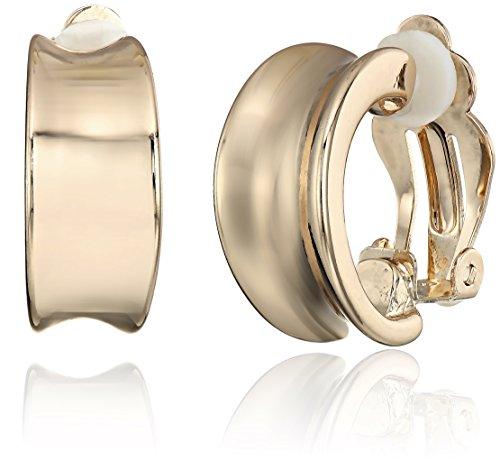 t-tahari-multi-band-mini-hoop-gold-clip-on-earrings