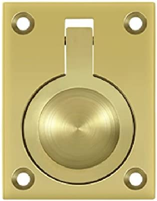 Recessed Handle Knob Lifting Pulling Polished Marine 316 Stainless Steel DK0
