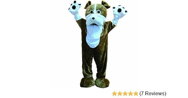 3848d87e9 Amazon.com: Bulldog Mascot - Size Adult: Clothing