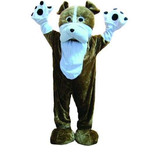 Bulldog Mascot - Size Adult -