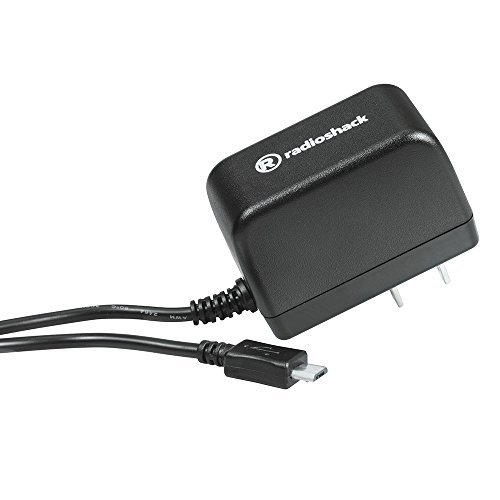 RadioShack Fixed Micro USB 5V/1.2A AC Wall Charger - 5ft Cable