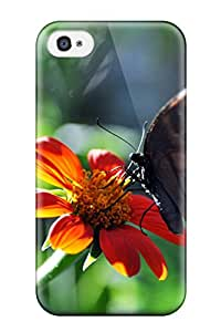 Anti-scratch And Shatterproof A Sip Of Summer Phone Case For Iphone 4/4s/ High Quality Tpu Case