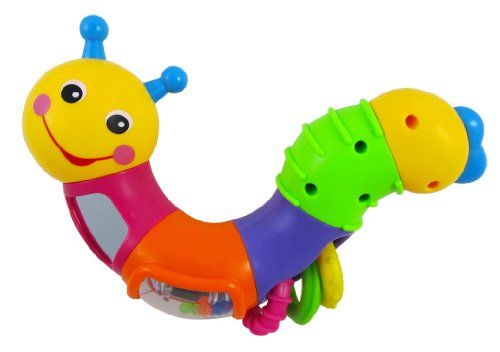 Liberty Imports 786B Caterpillar Rattle