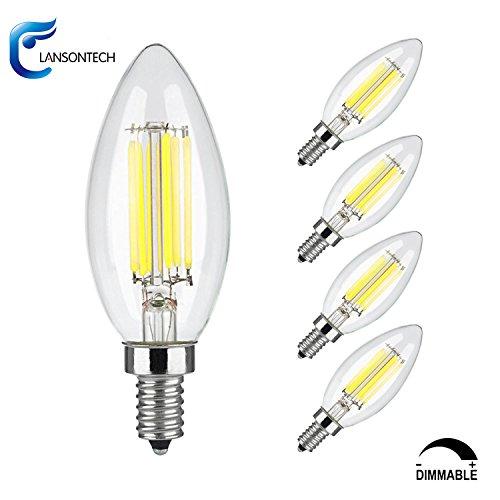 Led Candle Light Bulbs Cool White - 7