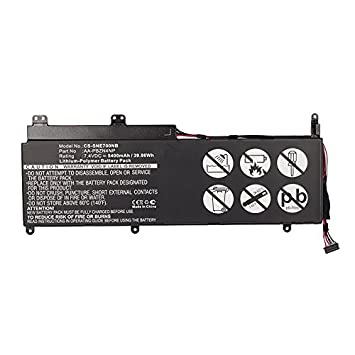 Batería para Samsung Serie 7 Slate PC 700T1A / XE700T1A (5400mAh): Amazon.es: Electrónica