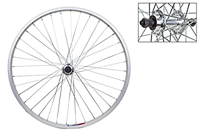 Wheel Master Rear Bicycle Wheel 26 x 1.5 36H, Alloy, Quick Release, Silver