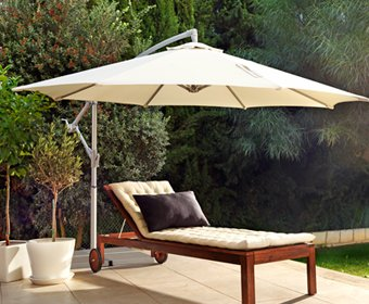 Superior Ikea KARLSO Hanging Umbrella (Beige)