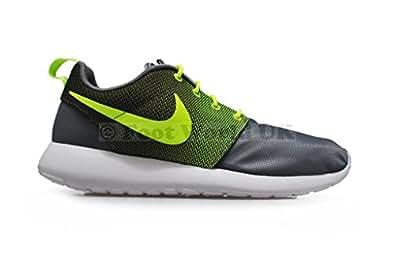nike rosherun mens running trainers 511881 sneakers shoes (uk 7.5 us 8.5 eu 42, cool grey volt white 071)