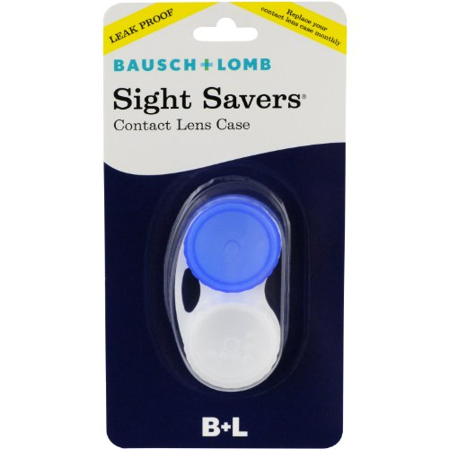 Sight Savers Contact Lens Case (Blue) (Contact Lenses Case Clean)