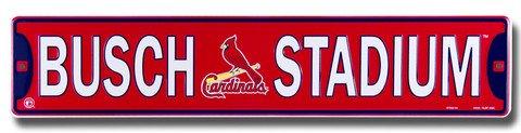 Busch Stadium St. Louis Cardinals Street (Aluminum St Louis Cardinals Frame)