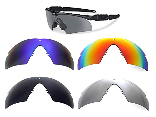 Galaxy Replacement Lenses Oakley Si Ballistic M Frame 2.0 Z87 - Replacement M Oakley Lenses Frame