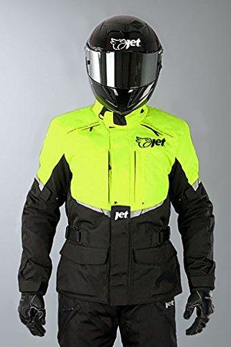 JET Chaqueta Moto Hombre Textil Impermeable con Armadura Tourer: Amazon.es: Coche y moto