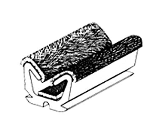 CRL Flexible Flocked Rubber Glass Run Channel for 1960-1961 Valiant and Lancer - 96 in ()