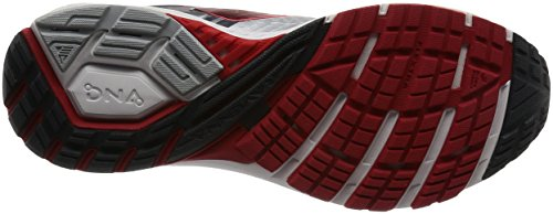 Brooks Männer Ravenna 8 Silber / Anthrazit / High Risk Red