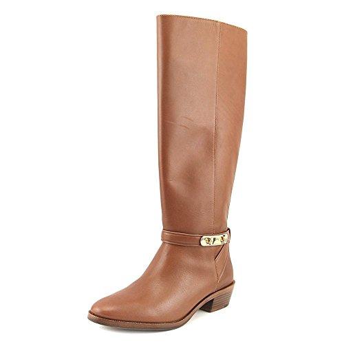 Coach Womens Caroline Closed Toe Knee High Fashion Boots Dark Saddle Extended Semi Matte Calf