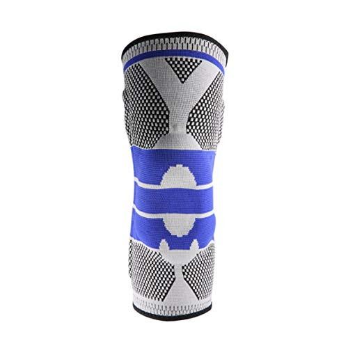 Detectoy Breathable Sweat Absorb Outdoor Safety Sports Hiking Basketball KneePads Tape Tactical Knee Pads Calf Support Kneepad by Detectoy