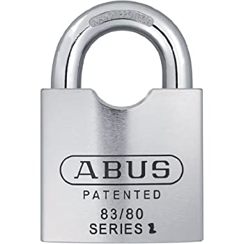 Abus 83 80 300 S2 Schlage 80mm Solid Steel Rekeyable
