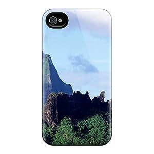 Ksander Premium Protective Hard Case For Iphone 4/4s- Nice Design - Tahitirock