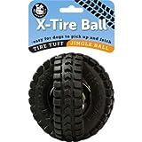 Pet Qwerks XTJ2 Medium Jingle X-Tire Ball -