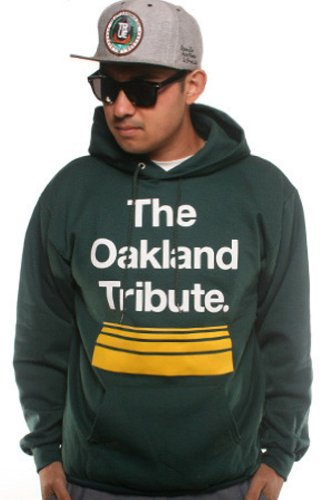 Adapt Men's The Oakland Tribute Hoody Small Green