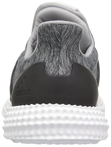 Adidas Originali Mens Adidas Atletica 24/7 Cross Trainer Grigio Scuro Melange / Cristallo Bianco / Nero