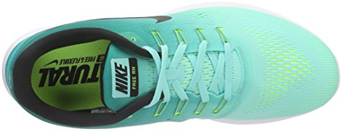 Black Turq Rio Nike Uomo Scarpe RN Multicolore Hyper Free Teal Volt da White Corsa wvqpz8w