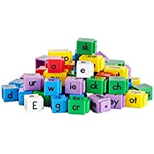 ETA hand2mind Alphabet Linking Letter and Word Building Cubes (Set of 142)
